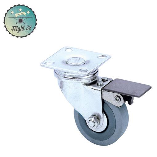roulettes 50mm avec frein