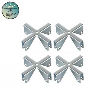 F4271X4 Croix pour Parois Séparatrices 6,7 mm