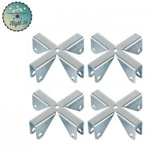 F4291X4 Croix pour Parois Séparatrices 9,2 mm