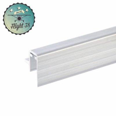 FALU6145-A Profilé aluminium Sommet de Cloison