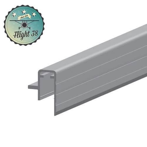 FALU6145-B Profilé aluminium Sommet de Cloison