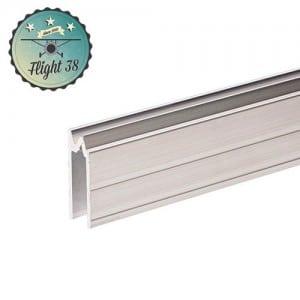 FALU6202 Profilé Hybride d'Emboîtement aluminium pour matériau 7 mm