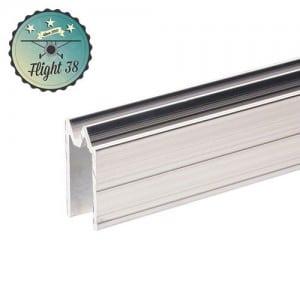 FALU6203 Profilé Hybride d'Emboîtement aluminium pour matériau 10 mm