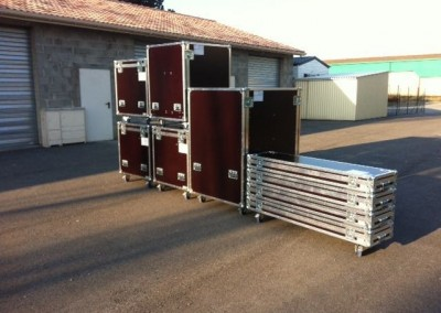 flight case sur mesure en kit ou d'occasion