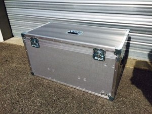 flight case en fibre de carbone sur mesure en kit
