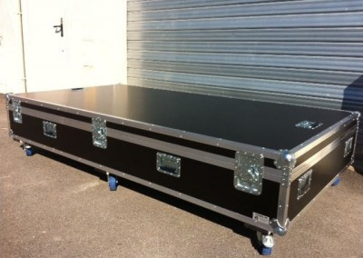 flight case ultra plat sur mesure en kit ou occasion