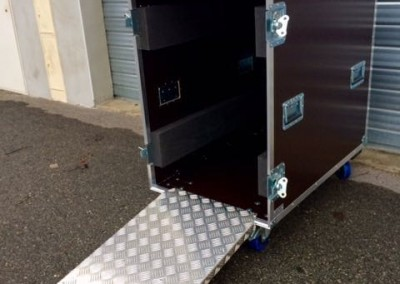 flight case RAMPE ALU