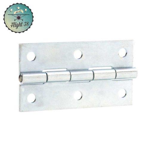 FC2602 Charnière médium zinc