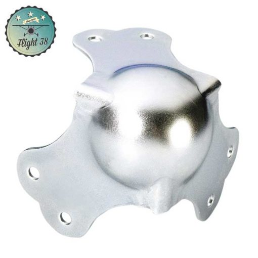FC4101 Coin Boule grand 3 Pattes zinc