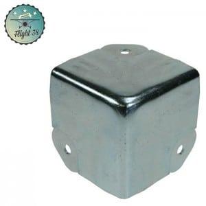 FC4146 Coin 3 Pattes avec Passage de Profilé pour 6145 Profilé Sommet de Cloison