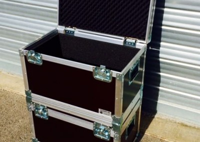 flight case 60X40X40 OUVERT