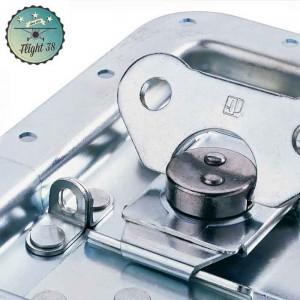 FF17295P-B Fermeture Papillon médium Cadenassable sans Passage de Profilé Cuvette 9 mm