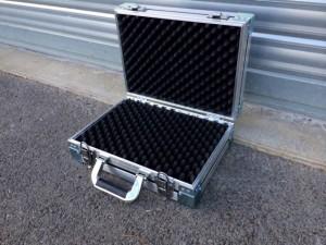 valise avec mousse alvéolée sur mesure