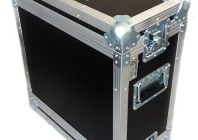"flight case racks 19"" 6u"