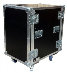 "flight case cacks 19"" 16u sur mesure en kit"