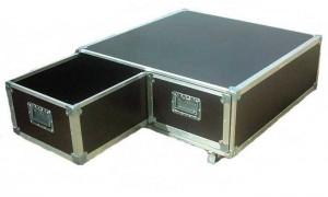 table basse en fly case