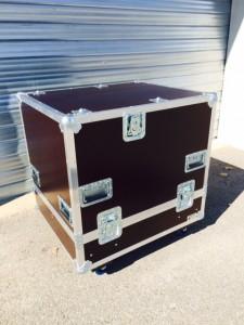 Flight case avec grandes fermetures papillon en kit ou d'occasion pas cher