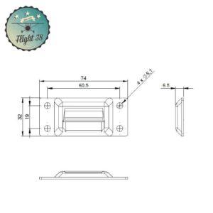 FF1630KEEP.B accroche pour fermeture