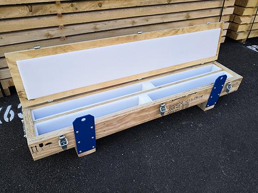caisse de transport en bois detfi romans