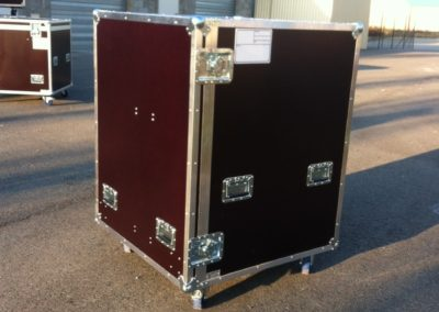 Flight Case sur-mesure capot avant