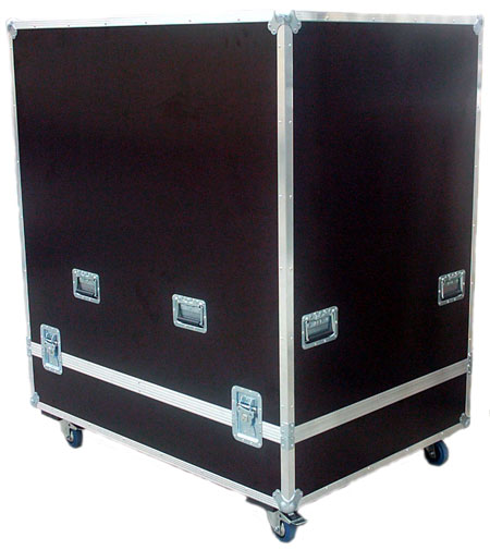 Flight Case sur-mesure capot inversé