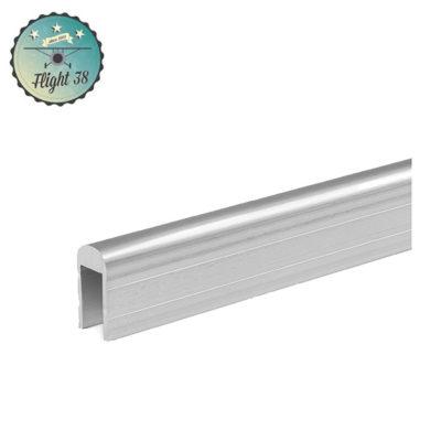 Profilé aluminium de Recouvrement pour Parois Séparatrices